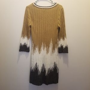 New Directions long sleeve sweater dress